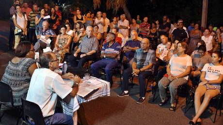 Volksversammlung in der kubanischen Hauptstadt Havanna, August 2018.