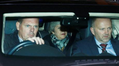 Die britische Premierministerin Theresa May, London, Großbritannien, 12. Dezember 2018.