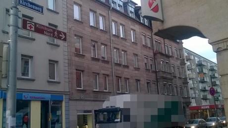 Kirchenweg in Sankt Johannis. Hier wurde um 19:20 Uhr die 56-jährige Frau angegriffen.