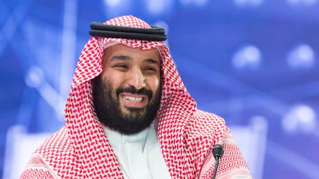 Zumindest was den Handel mit Deutschland anbelangt, hat der saudische Kronprinz Mohammed bin Salman gut lachen.