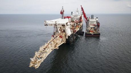 Vor der Küste Finnlands wurde im September 2018 die Pipeline für Nord Stream 2 auf dem Meeresgrund verlegt. (Symbolbild)