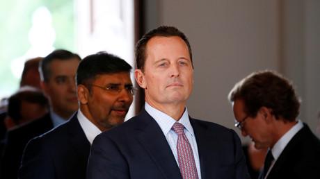Der US-Botschafter in Deutschland, Richard Grenell, am 6. Juli 2018 in Meseberg