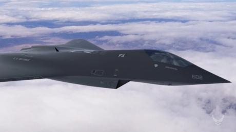 Die Abbildung vom Air Force Research Lab zeigt ein potentielles Konzept für einen neuen Luftüberlegenheitsjäger der nächsten Generation, kurz F-X (Air Force Research Laboratory).