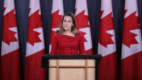 Kanada verurteilt