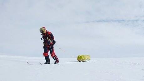 Mensch durchquert erstmals allein Antarktis