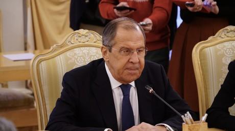(Archivbild) Der russische Außenminister Sergei Lawrow