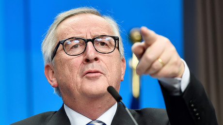 Scharfe Töne in Richtung Bukarest: Kommissionschef Jean-Claude Juncker