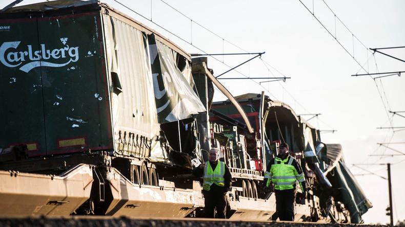 Auf Brücke über den Großen Belt: Mehrere Tote bei Zugunglück in Dänemark
