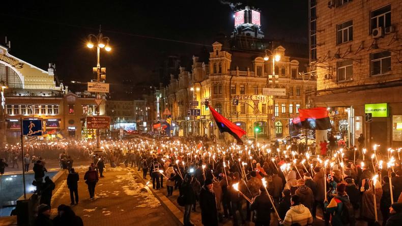 Ukraine feiert Geburtstag des NS-Kollaborateurs Stepan Bandera