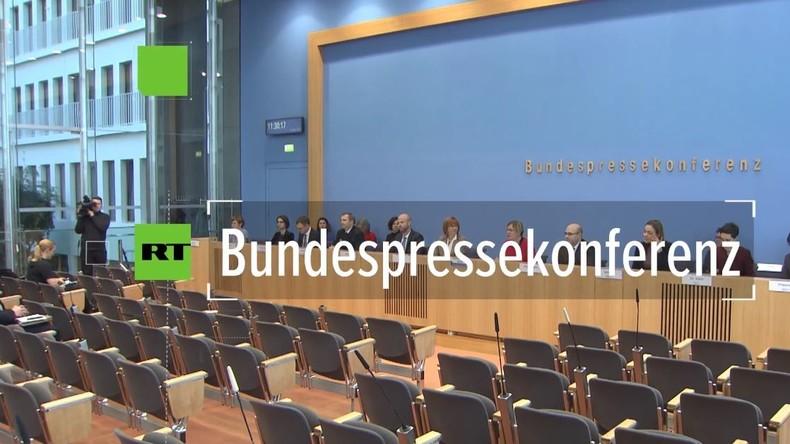 Bundespressekonferenz: Gab es eine Hetzjagd im bayerischen Amberg?