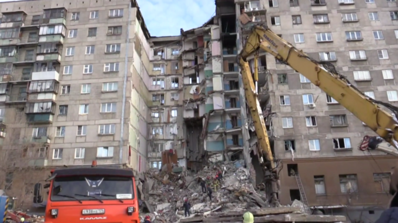 """Tragödie von Magnitogorsk: """"Rettungskräfte arbeiten unter lebensbedrohlichen Bedingungen"""""""