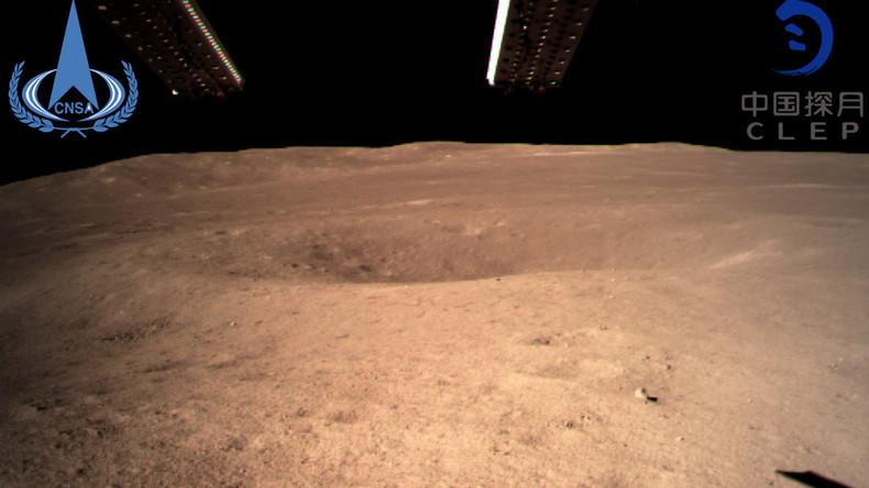 """Chinas """"Chang'e 4"""": Erfolgreiche Landung auf der Rückseite des Mondes"""