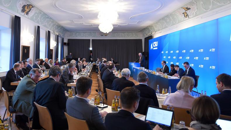 CSU-Landesgruppe startet Zukunftsklausur im Kloster Seeon: Thema auch höherer Verteidigungsetat