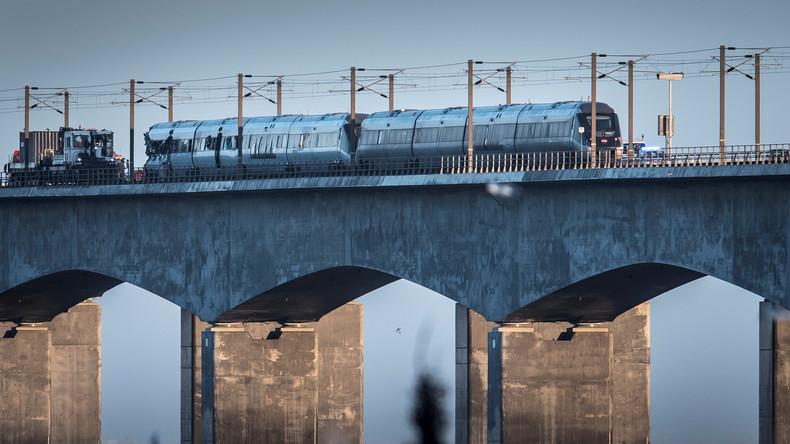 Tödliches Zugunglück in Dänemark: Opferzahl steigt auf acht
