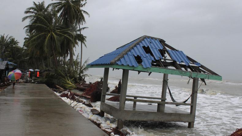 """Thailand: Zehntausende bringen sich vor Tropensturm """"Pabuk"""" in Sicherheit"""