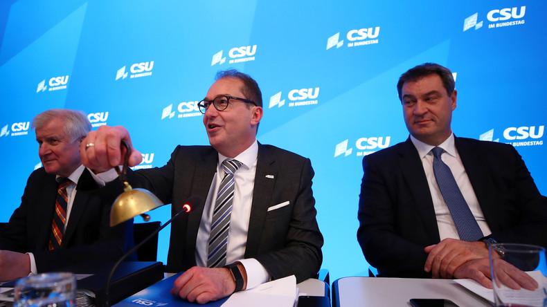 CSU setzt Klausur fort: Fokus auf Bundeswehr und Brexit