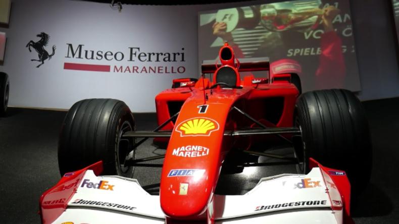 """Ausstellung """"Michael 50"""" im Ferrari Museum zum 50. Geburtstag von Schumacher eröffnet"""