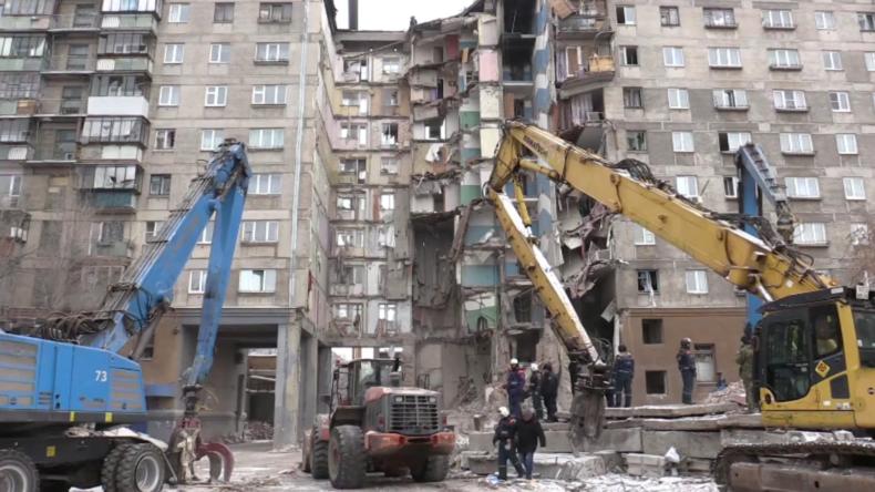 Russland: Rettungsaktion in Magnitogorsk abgeschlossen