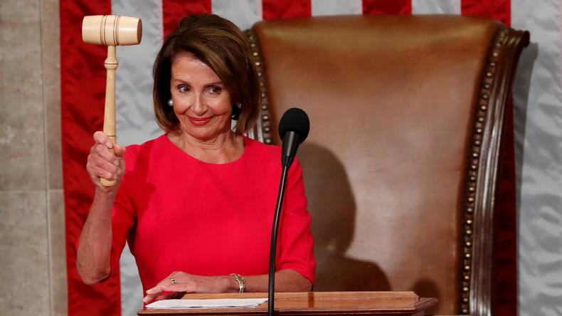 """""""Sie reißt dir den Kopf ab"""": Demokratin Nancy Pelosi neue Vorsitzende des US-Kongresses"""