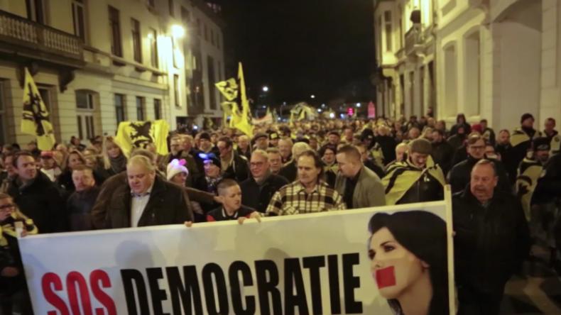 """Belgien: """"Die müssen die Stimme des Volkes respektieren!"""" – Protest gegen Koalition der Verlierer"""