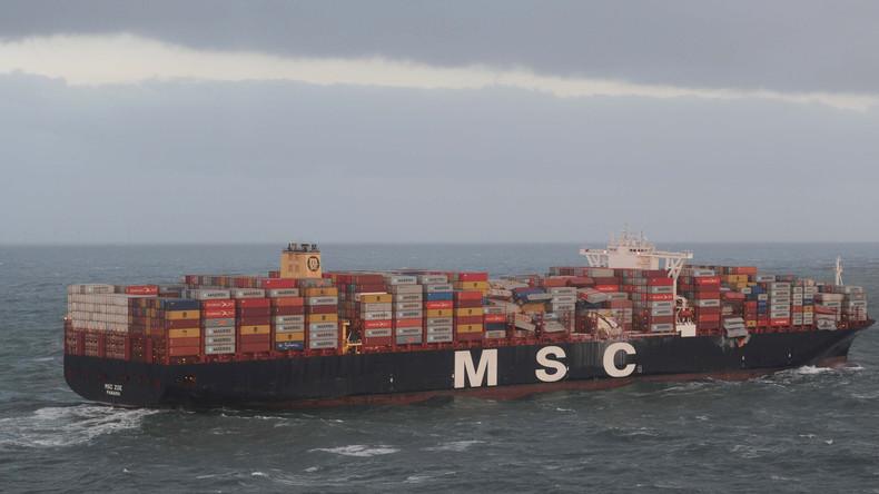 Niederländische Staatsanwaltschaft ermittelt nach Container-Havarie