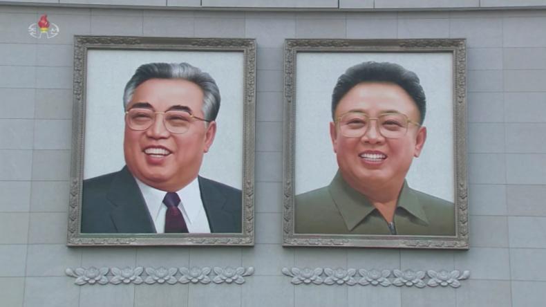 Nordkorea: Kundgebungen zur Unterstützung von Kim Jong-uns Neujahrsansprache in Pjöngjang