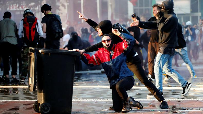 Enttarnter V-Mann wirkte bei G20-Blockaden in Hamburg mit