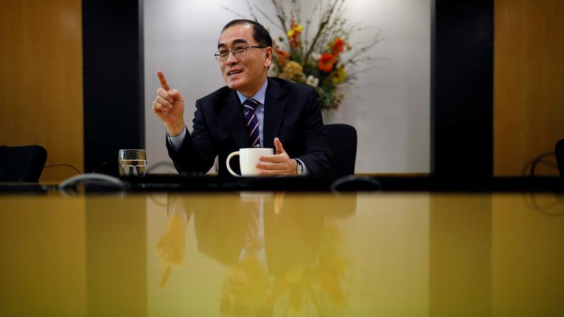 Ehemaliger nordkoreanischer Diplomat empfiehlt Überläufer: Kein Asyl in den USA