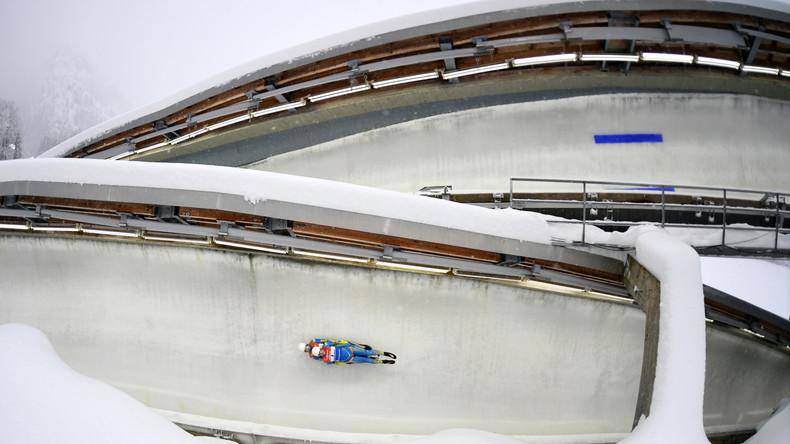 Russische Rodlerin Demtschenko stürzt am Königssee schwer