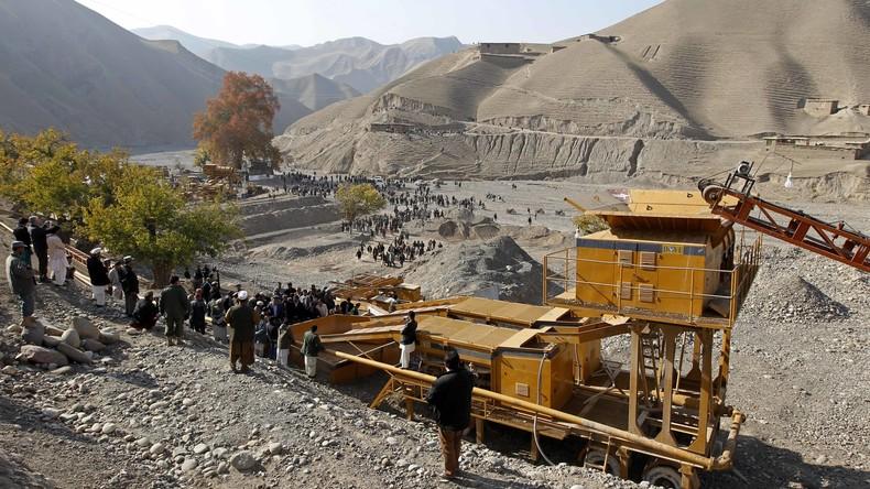 Mindestens 35 Tote bei Einsturz einer Goldmine in Afghanistan