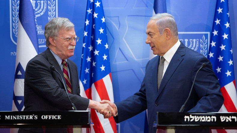 """Israel: Netanjahu will das Thema Syrien mit """"altem Freund"""" Bolton besprechen"""