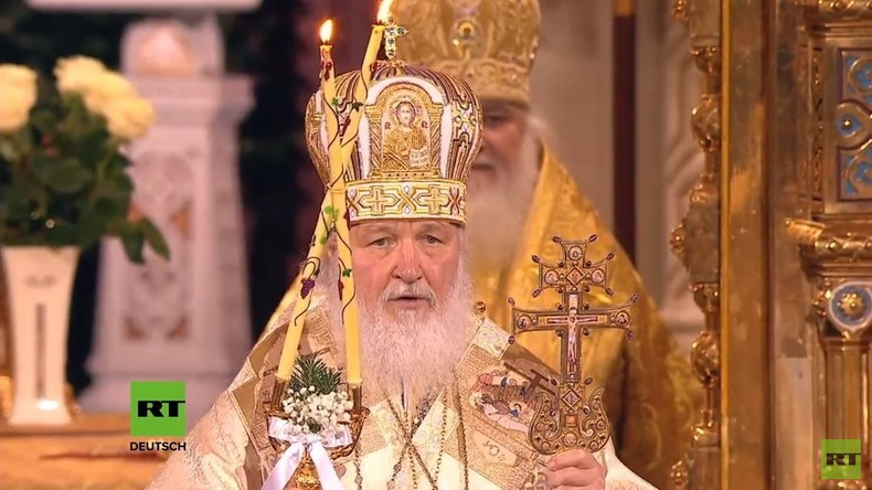 LIVE: Orthodoxe Weihnachtsmesse in Moskau