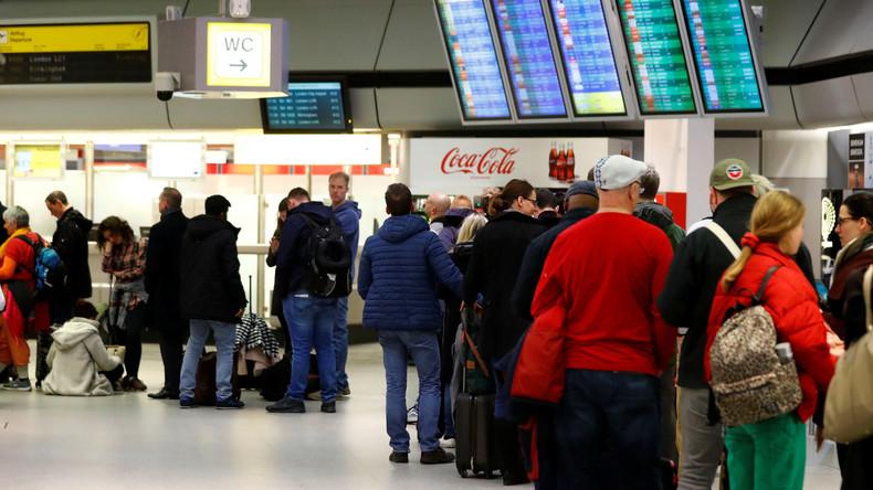 Warnstreik an Berliner Flughäfen: Viele Flüge gestrichen