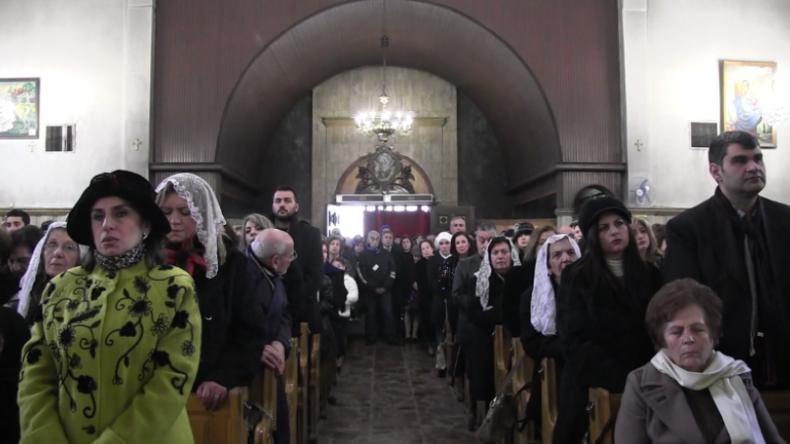 Aleppo: Noch vor zwei Jahren undenkbar – Armenisch-syrische Gläubige feiern in Frieden Weihnachten