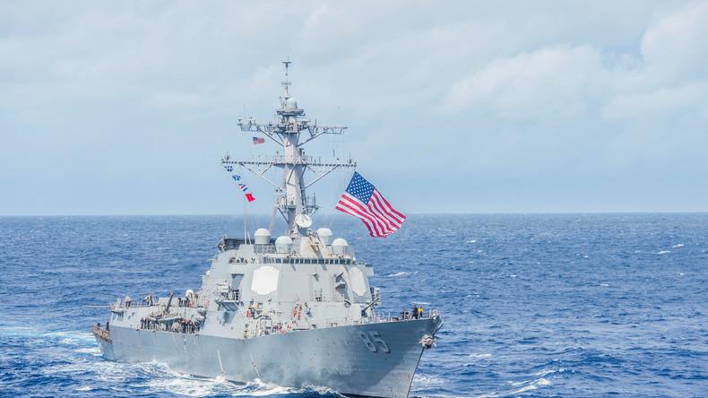 Konflikt mit China: US-Marineschiff fährt durch chinesische Gewässer im Südchinesischen Meer