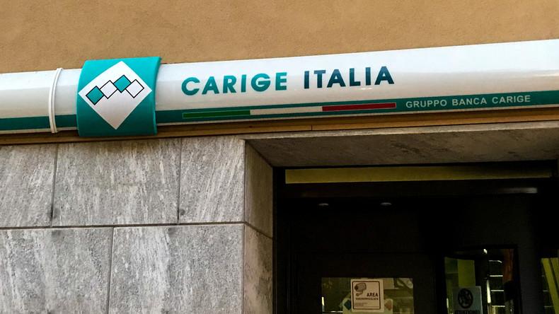 Italienische Regierung kommt angeschlagener Bank zur Hilfe