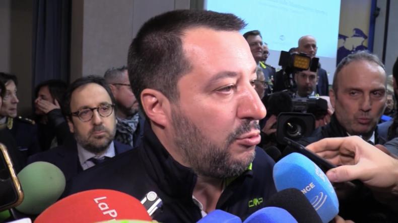 """Italienischer Innenminister Salvini unterstützt Gelbwesten: """"Macron schadet dem französischen Volk"""""""