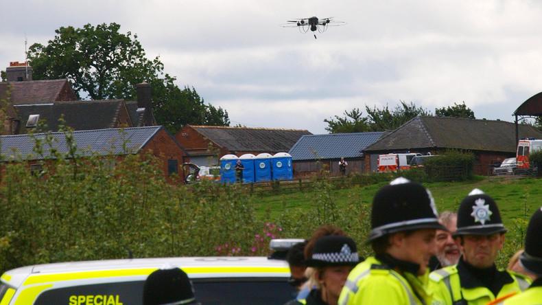Britische Polizei bekommt mehr Befugnisse im Vorgehen gegen illegale Drohnen