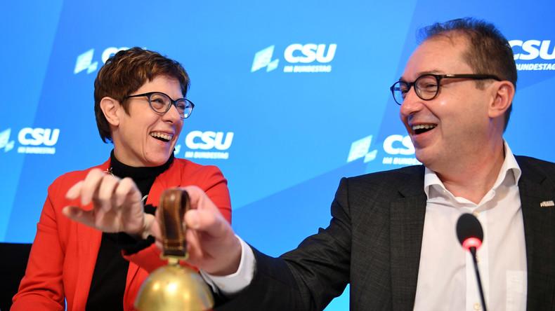 Aufwärtstrend bei der Union: Umfrage sieht CDU bei 30 Prozent