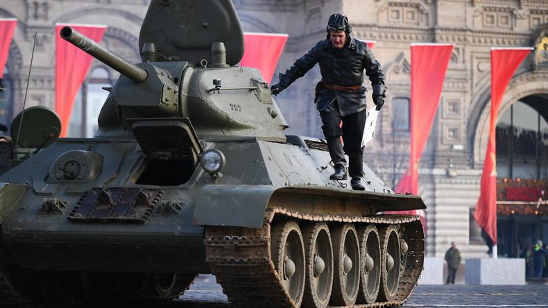 Heimkehr einer Legende – zweieinhalb Dutzend intakte T-34-Panzer aus Laos nach Russland verschifft