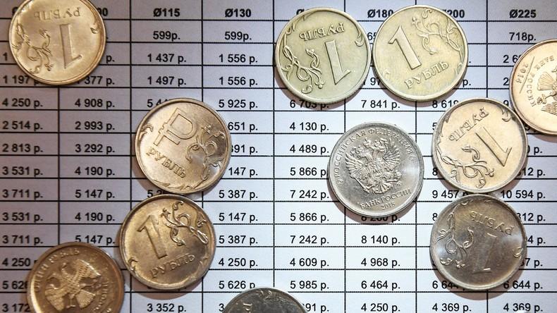 Weltbank: 2018 blieb die Inflation in Russland niedrig, Wirtschaft wuchs trotz Sanktionen