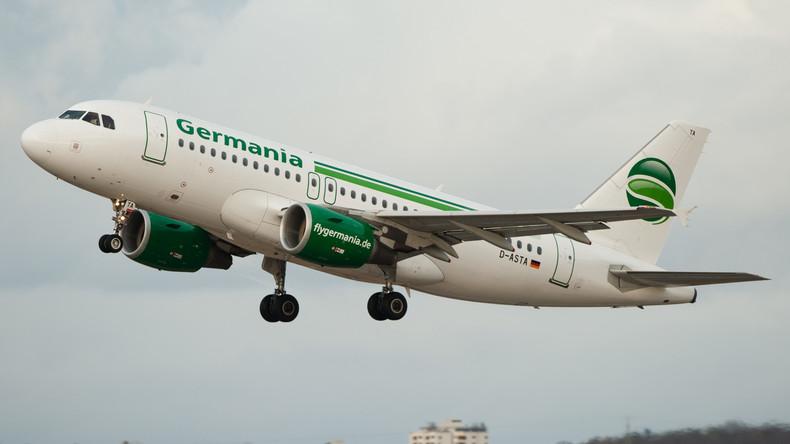 Airline Germania in Finanznot - Flugbetrieb ohne Einschränkungen