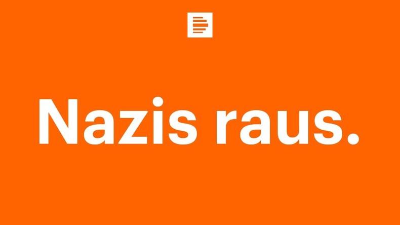 #NazisRaus ist die Chiffre einer orientierungslosen und hysterischen Gesellschaft