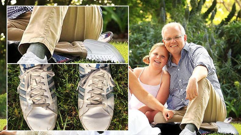 Photoshop-Panne: Australischer Premierminister mit zwei linken Füßen