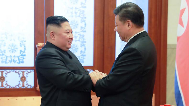 Xi und Kim vereinbaren Zusammenarbeit bei Denuklearisierung der Koreanischen Halbinsel