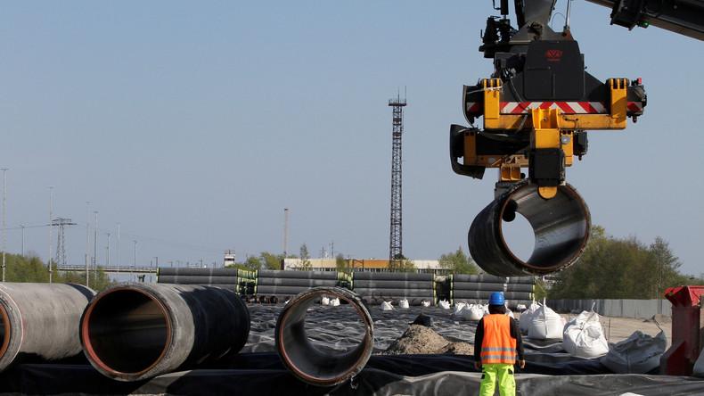 Nord Stream 2: USA drohen mit Sanktionen gegen zwei europäische Unternehmen