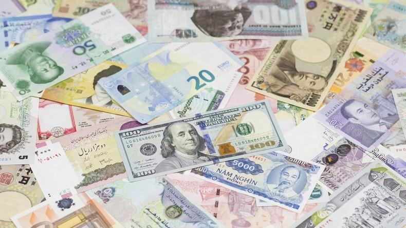 Russland hat 100 Milliarden Dollar seiner Reserven in Yuan, Yen und Euro transferiert