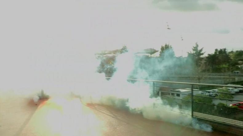 Frankreich: Anti-Macron-Demonstranten im Tränengas-Regen