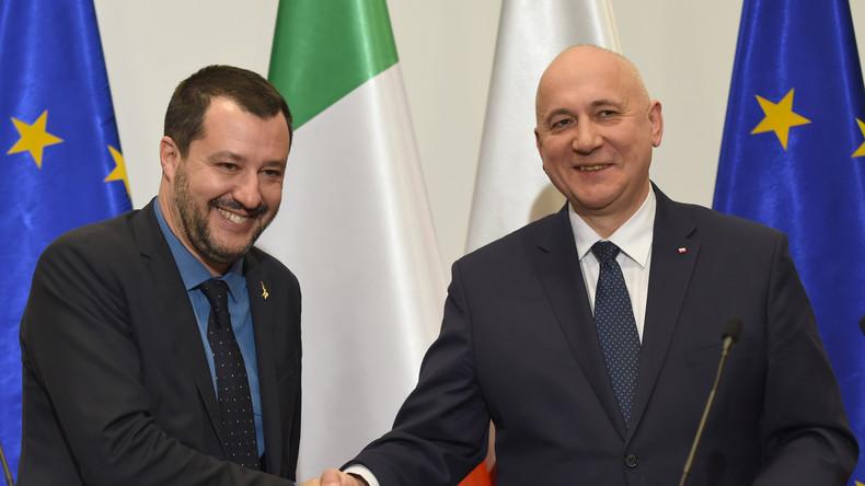 """Italiens Vizepremier fordert Allianz mit Polen für """"Europäischen Frühling"""" gegen Berlin und Paris"""