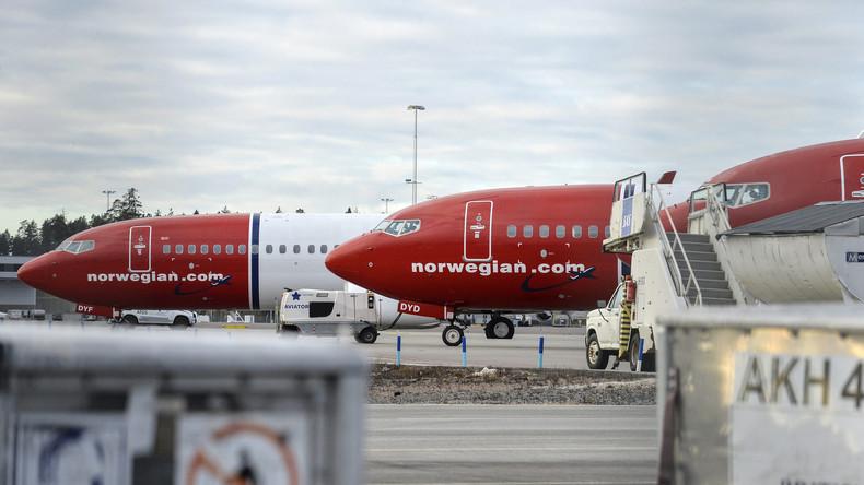 Norwegische Maschine landete vor vier Wochen im Iran und ist immer noch dort - wegen US-Sanktionen